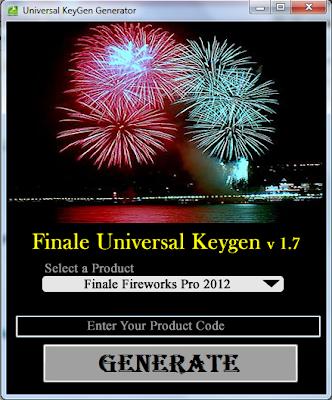 Download crack for Finale Fireworks 2012 | 2011 Activation