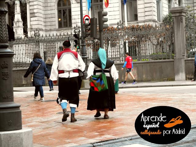 traje tradicional de Asturias