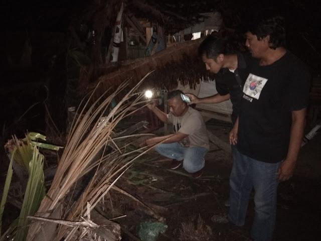 Hujan Angin, Daulay Tewas Tertimpa Pohon Sawit