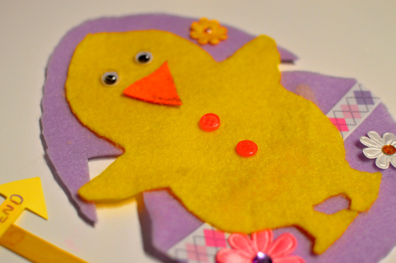, Easter Craft:  Create an Easter Egg and Chick Hunt with #BostikBloggers