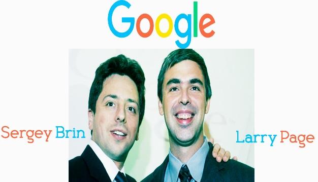 गूगल किसने बनाया ?