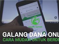 Galang Dana Online, Cara Mudah untuk Berderma