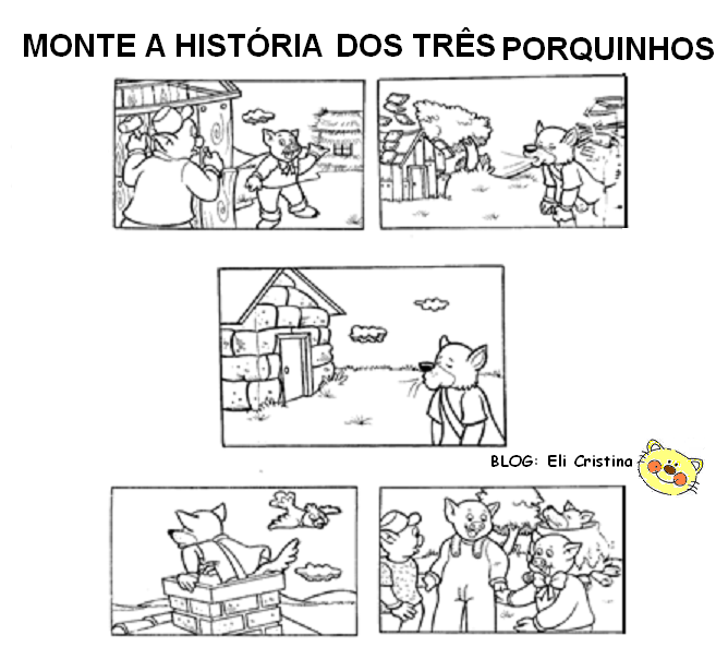 Alfabetizacao Contos De Fadas Atividades Dos Tres Porquinhos