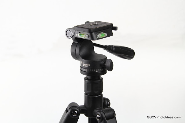 Weifeng WF-533H Head on Weifeng WF-595T Tripod