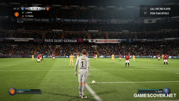 FIFA 18 Camera Angle