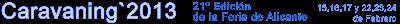 EN VALENCIA: ASÍ FUE Caravaning 2013, en Alicante 1