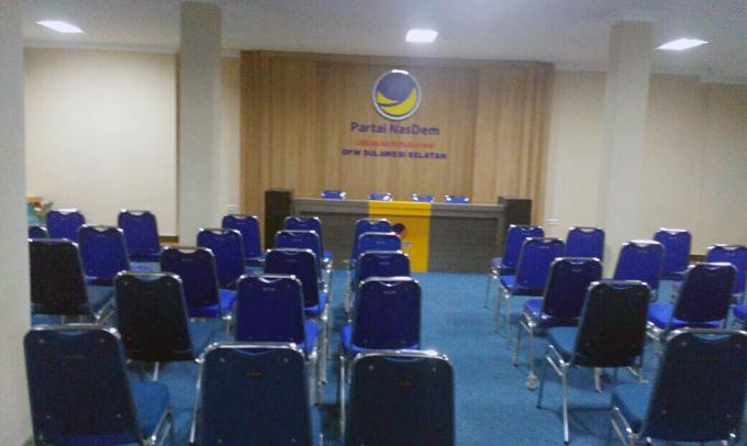 Hampir Rampung, NasDem Sulsel Siap-siap Tempati Kantor Baru