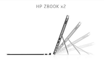 HP Zbook x2 Screen flip