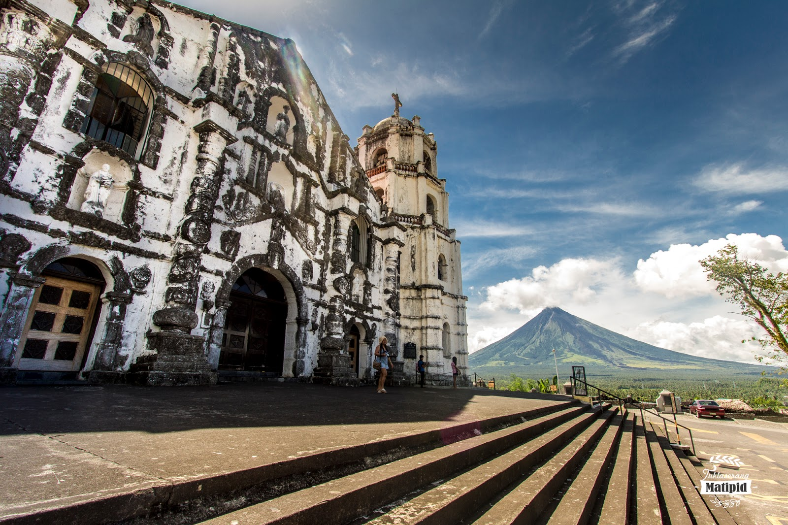 Daraga Church overlooking Mayon
