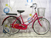 City Bike Phoenix 88-1 Kunci 24 Inci