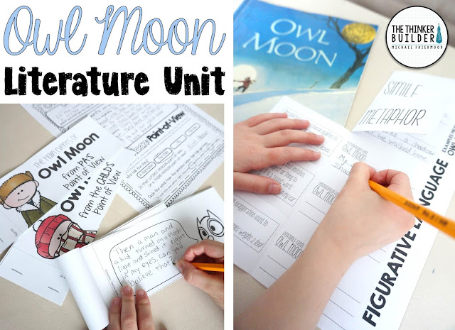 https://www.teacherspayteachers.com/Product/Owl-Moon-Literature-Unit-My-Favorite-Read-Alouds-1710702