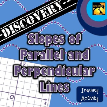 Slopes of Parallel and Perpendicular Lines Inquiry Activity