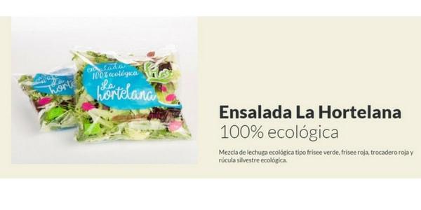 ensalada ecologica la hortelana ecoama