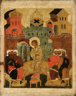 Икона Преполовения Пятидесятницы