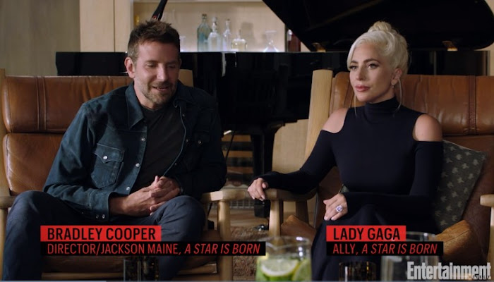 Interview Bradley Cooper and Lady Gaga, A Star is Born