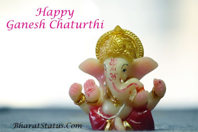 ganesh chaturthi images with status in hindi