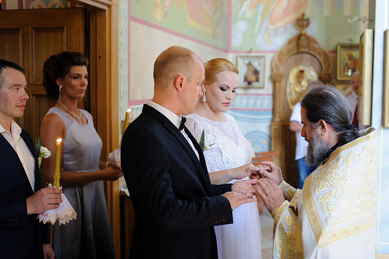 vestuvės Palangos cerkvėje