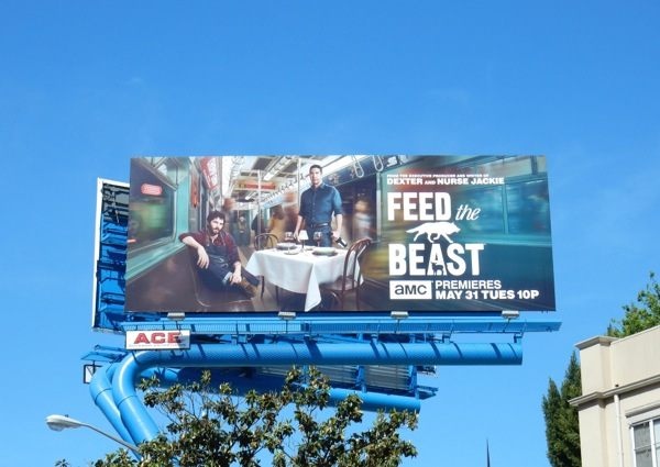 Feed the Beast series premiere billboard