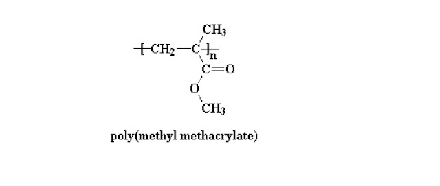 structure of poly methyl methacrylate, a paint making chemical