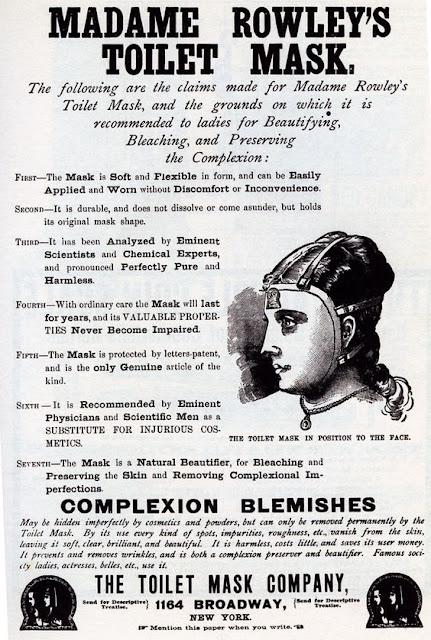 historia-maseczki-Madame Rowley
