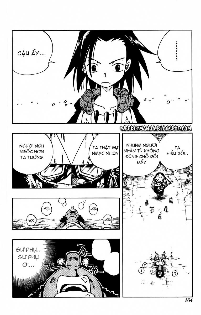 Shaman King [Vua pháp thuật] chap 115 trang 18
