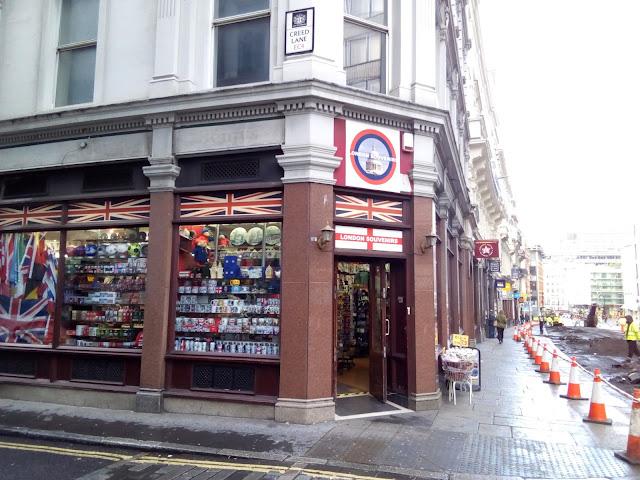 Pamiątki z Londynu
