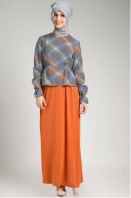 Gambar baju muslim motif terbaru