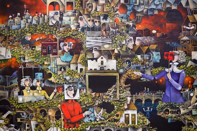 Caos I. del pintor surrealista Eduard Alcoy