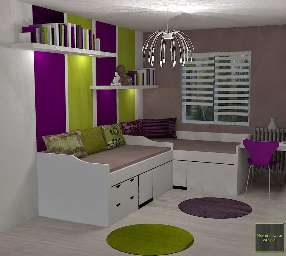 mon architecte en ligne chambre d 39 enfant flashy et mixte. Black Bedroom Furniture Sets. Home Design Ideas