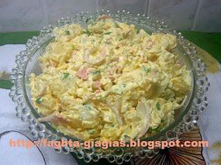 Πατατοσαλάτα με μαγιονέζα και γιαούρτι - από «Τα φαγητά της γιαγιάς»