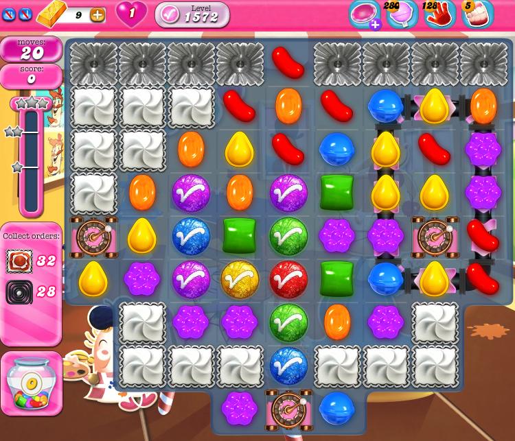 Candy Crush Saga 1572