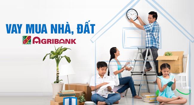 Dễ dàng vay vốn mua nhà tại ngân hàng Agribank
