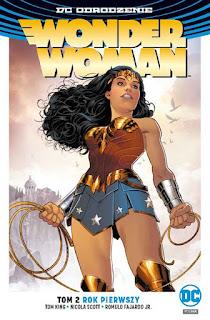 Wonder Woman tom 2: Rok pierwszy okładka