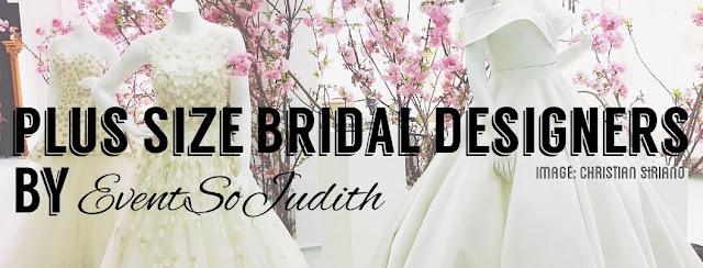 Plus size Wedding designers, Shop plus size gowns