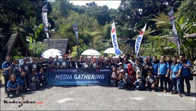 Media Gathering Suzuki 2018 di Imah Seniman, Lembang.