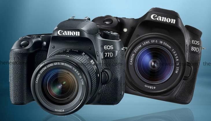 Сравнение камер Canon EOS 77D и Canon EOS 80D