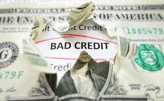 bad credit debts