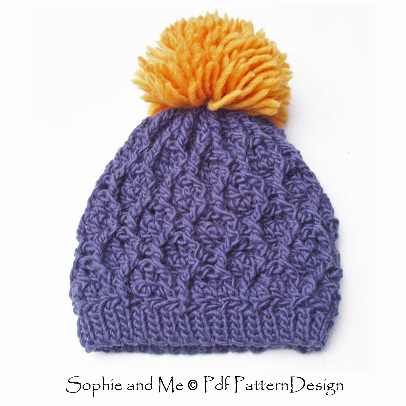 Crochet Me : Sophie and Me: HONEYCOMB CROCHET HAT