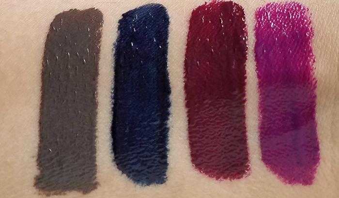 Swatches: Neue Farben: L´Oréal Paris - Infaillible Lip Paint Laquer Vampies - 7.95 Euro