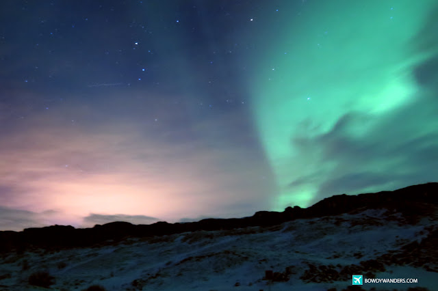bowdywanders.com Singapore Travel Blog Philippines Photo :: Iceland ::  Witnessing the Unforgettable Northern Lights in Iceland During Wintertime