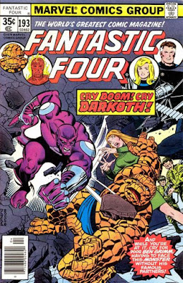Fantastic Four #193, Darkoth is back