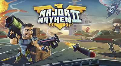 Major Mayhem 2 Mod Apk v1.141.2019022510 Unlimited Money Blueprints