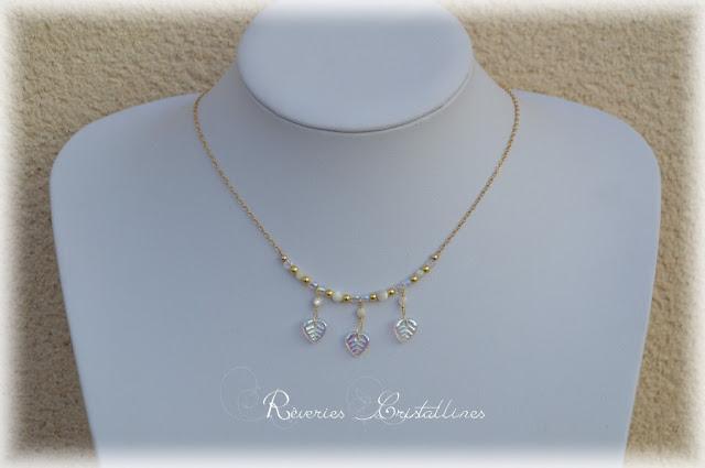 collier précieux romantique mariage