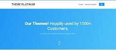 IDN Theme Gallery Blogger Template (Light Blue Version)