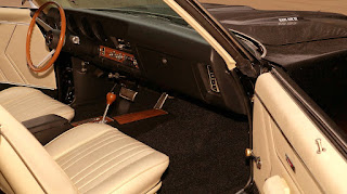 1969 Pontiac LeMans GTO Ram Air IV Dashboard
