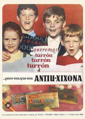 antiuxixona turron anuncio vintage