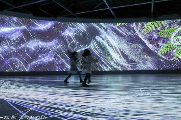 台中后里|台中花博后里森林園區|花馬道|聆聽花開的聲音機械花|發現館|友達微美館|四口之家