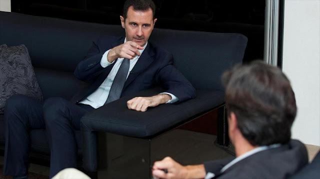 """Al-Asad: Europa apoya """"directa e indirectamente"""" a terroristas"""
