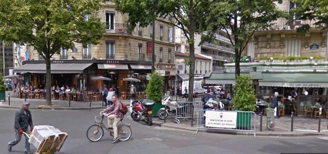 LIBROS PARA VIAJAR Paris Montparnasse  Egeria Siglo