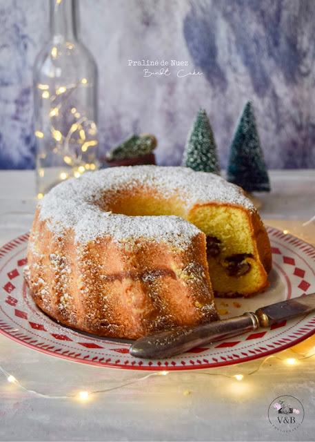 Bundt Cake con praliné de nuez